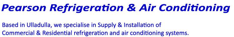 Pearson Refrigeration & Air Conditioning Logo